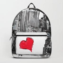 I love Des Moines Backpack