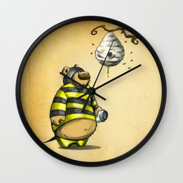 bumblebear Wall Clock