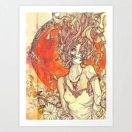 Psyche & Cupid Art Print