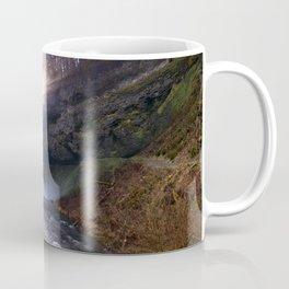 Sun Star Over South Falls Coffee Mug