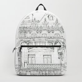 the face of Paris Backpack