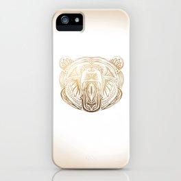 Golden Bear iPhone Case