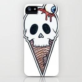 """""""SkullScream Cone"""" iPhone Case"""
