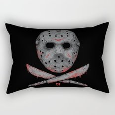 Friday 13 Rectangular Pillow