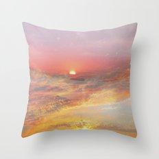 Sunrise & Sunset Throw Pillow