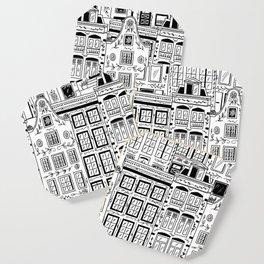 Amsterdam Houses Coaster