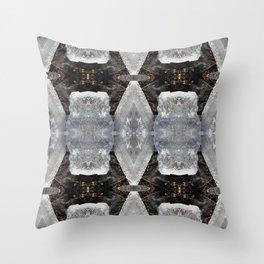 Diamond Ice Jewels Pattern Throw Pillow