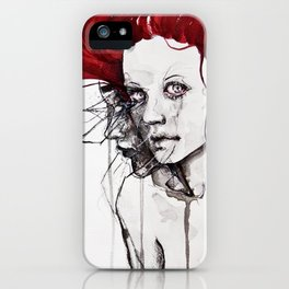 in the flesh iPhone Case