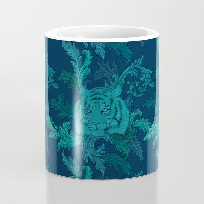 Tiger Greenery Coffee Mug