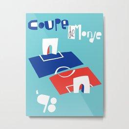 Coupe de Monde Metal Print