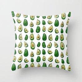 avacados Throw Pillow