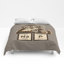 Chemistry sloth discovered nap Comforters