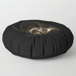 Abstract 17 001 Floor Pillow