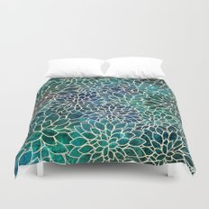 Floral Abstract 4 Duvet Cover
