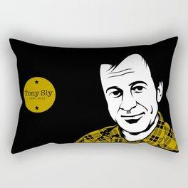 Farewell, Tony. Rectangular Pillow