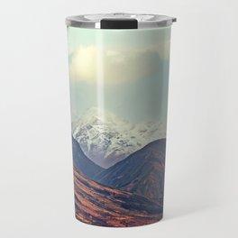 Dusk Descends on the Mountains Travel Mug