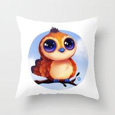 Pepe the Bird  Throw Pillow