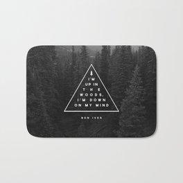 Woods -- Bon Iver Bath Mat