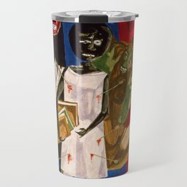 Ordeal of Alice by Jacob Lawrence African American Masterpiece Travel Mug