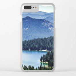 Dewey Lake, Washington Clear iPhone Case