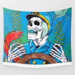 Down With the Ship Wall Tapestry