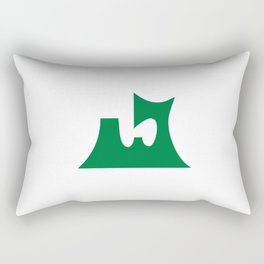 Flag of Aomori prefecture Rectangular Pillow