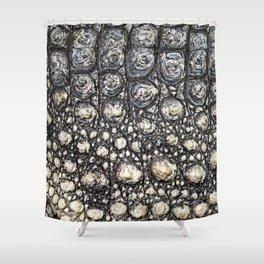 Crocodile Scale Shower Curtain