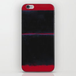 Rothko Inspired #6 iPhone Skin