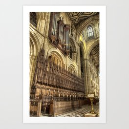 Pipe Work Art Print