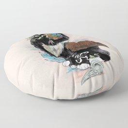 Black Magic Floor Pillow