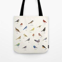 little nature birds Tote Bag