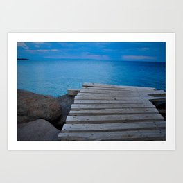 The Aegean Art Print