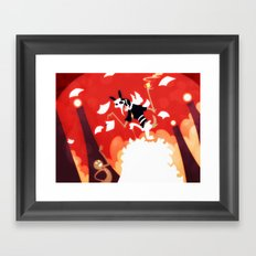 The God Of Accounting Framed Art Print