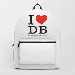 I love Drum and Bass Backpack