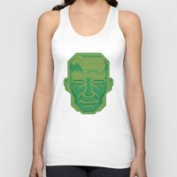 android Tank Tops featuring Android Dreams by Doodle Dojo