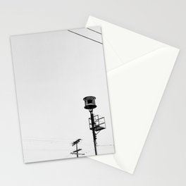 Air Raid Siren In Los Angeles Stationery Cards