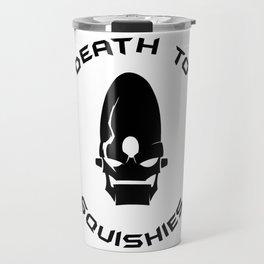 Doctor Nefarious Robot Propaganda Travel Mug