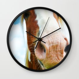 Horse in the Clouds Wall Clock