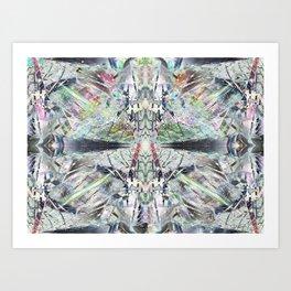 Kaleidoscopic Diamonds Art Print