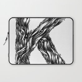 The Illustrated K Laptop Sleeve