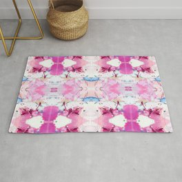Pinky Swear (Abstract Paint Photograph) Rug
