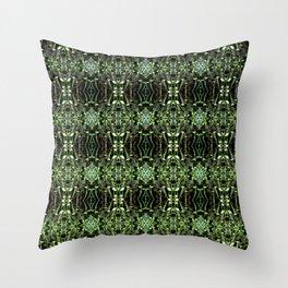 Seedlings pattern Throw Pillow