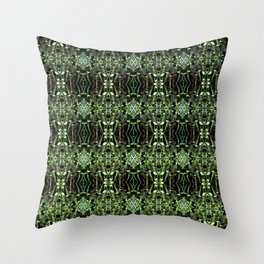 Seedlings pattern Throw Pillow