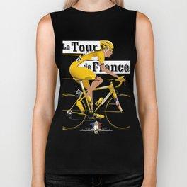 Tour De France cycling grand tour Biker Tank