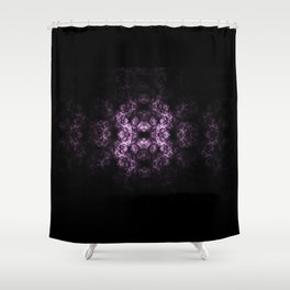 Symmetrical fractal Shower Curtain