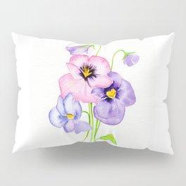 Pretty Pansies Pillow Sham
