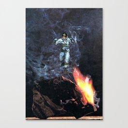 cosmonaut... Canvas Print