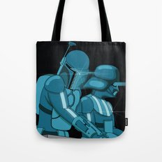 Darth Punk Tote Bag