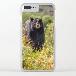 Running Bear Clear iPhone Case