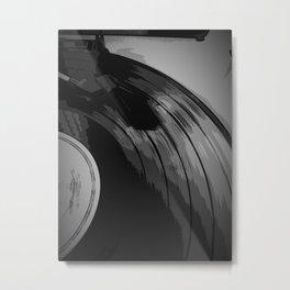 Vinyl 3 Metal Print